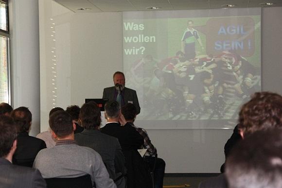Konferenzeröffnung Agil Hans Jürgen Kugler