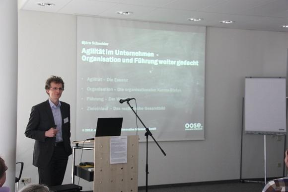 Björn Schneider in seinem Element